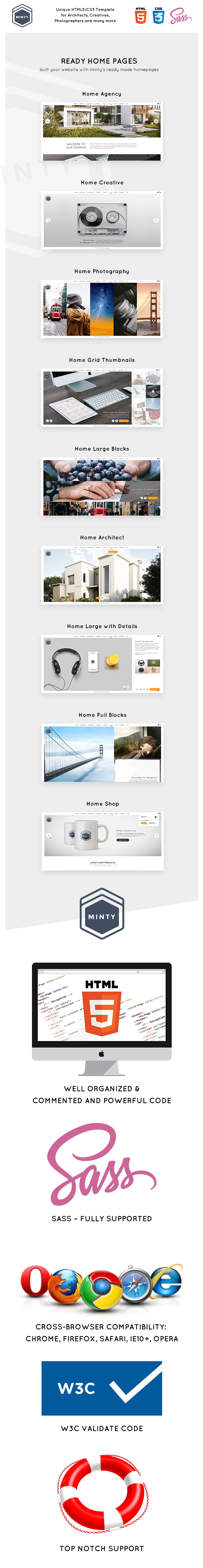 Minty - For Agency, Architect & Photographers, Creatives - 1